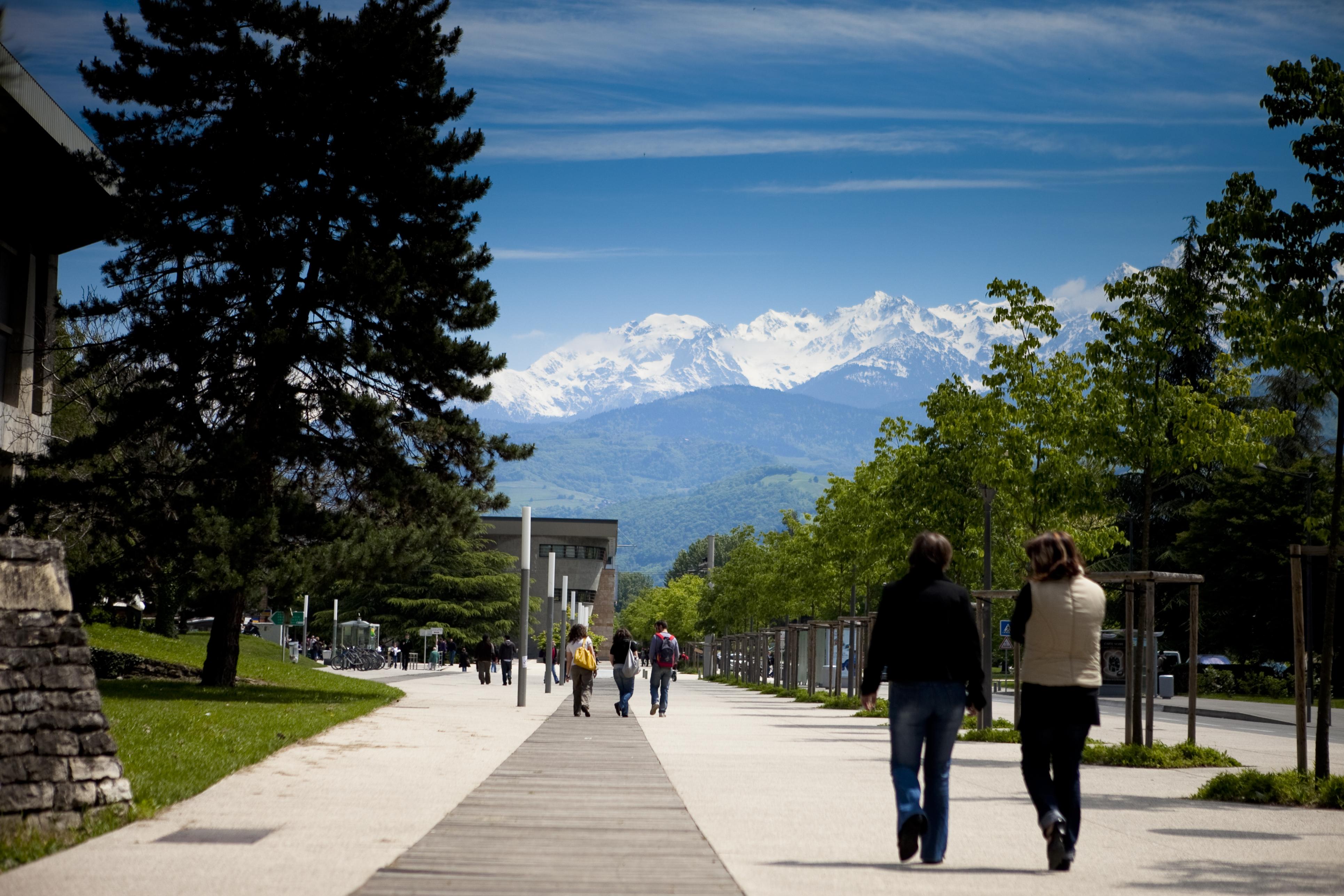 Photo campus Grenoble